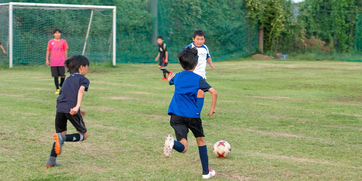 サッカースクール風景