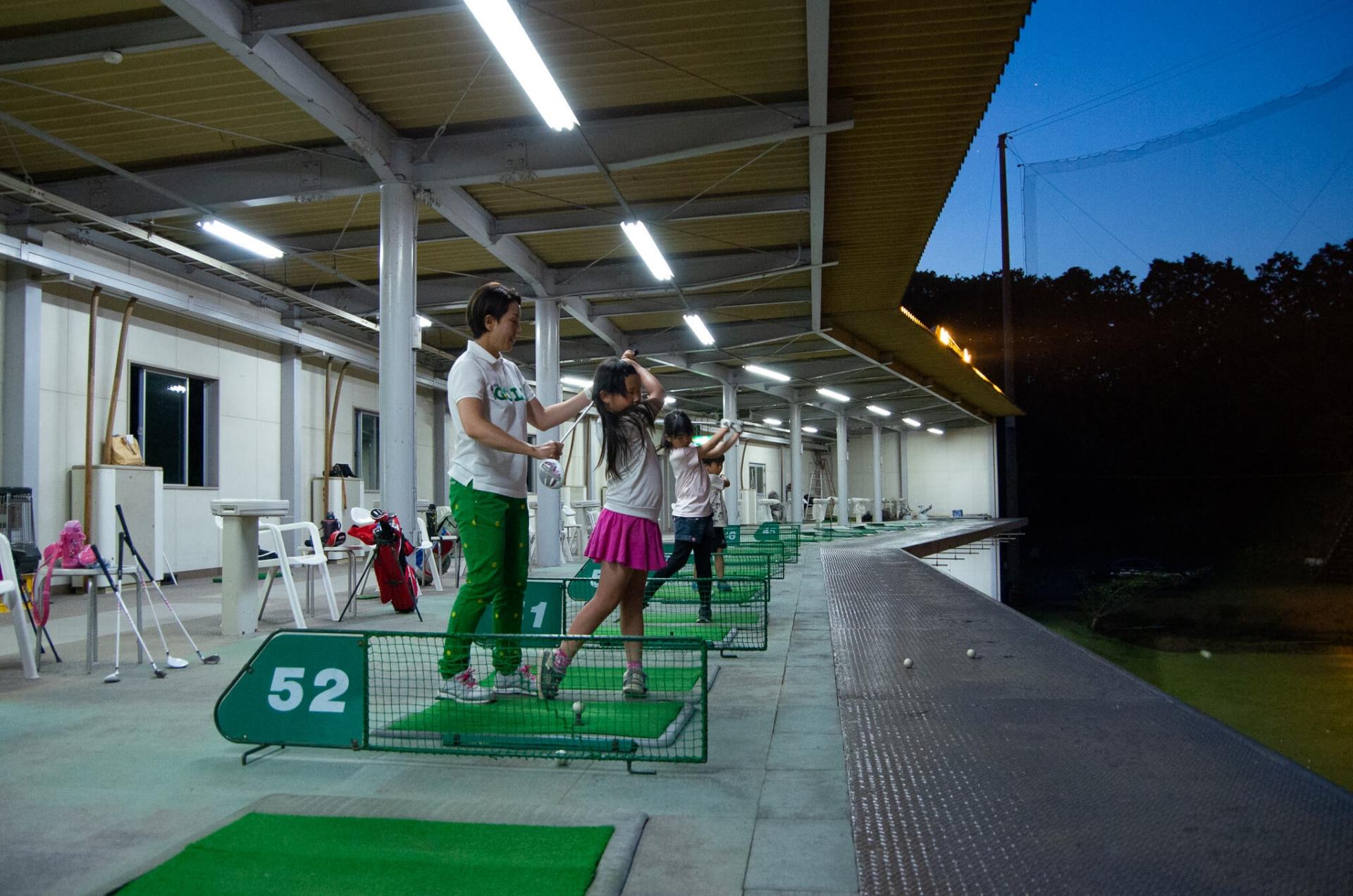 ゴルフスクールキッズクラスレクチャー