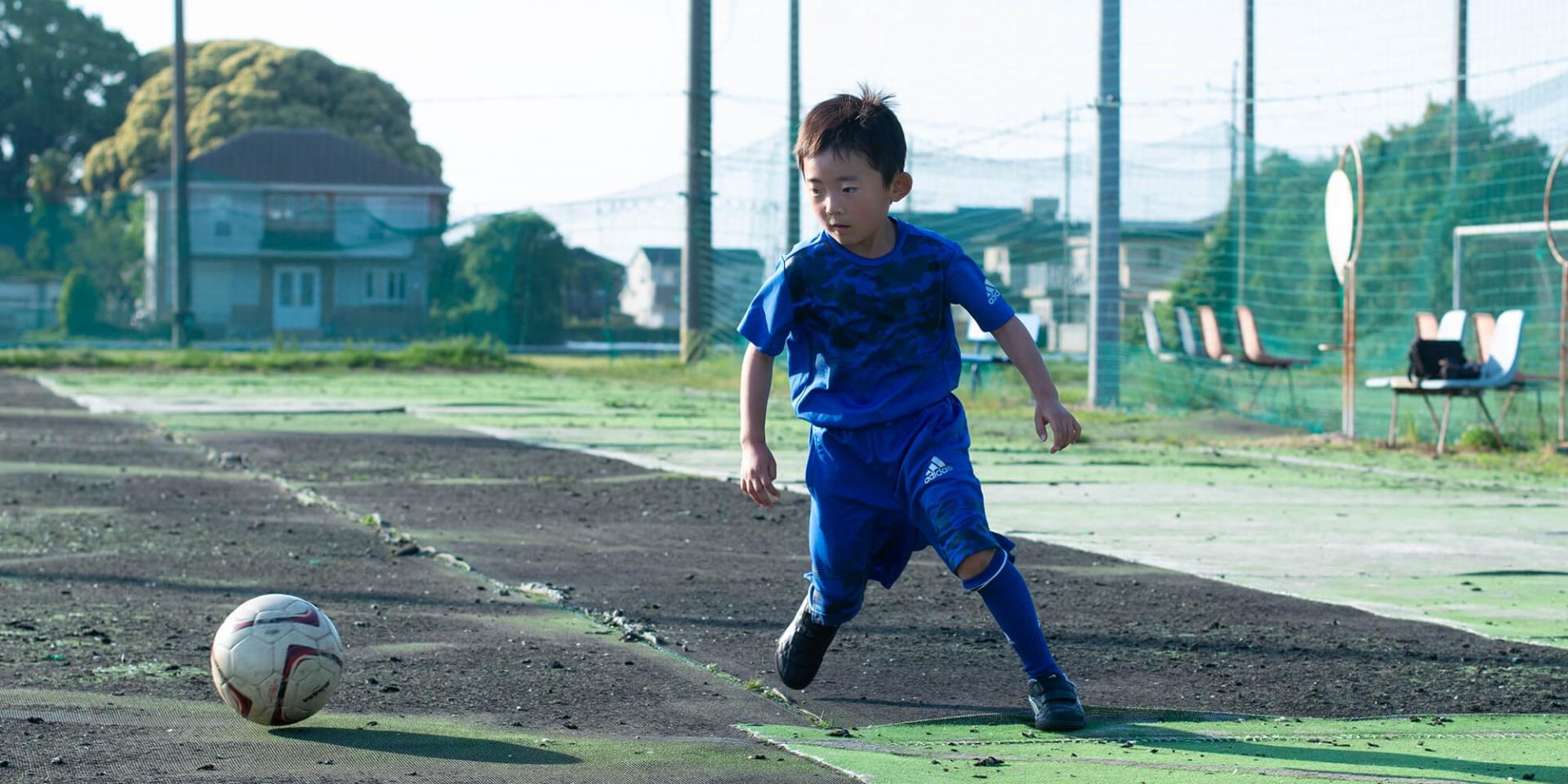イーグルサッカースクール練習風景